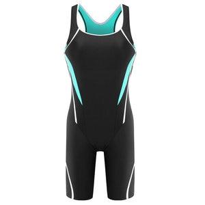 Image 5 - Riseado Sport Racing One Piece Swimsuit Women Competition Swimwear Boyleg Racerback Swimming Suits for Women Bathing Suits