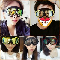 Novo estilo óculos de proteção miopia à prova dwaterproof água anti nevoeiro de alta definição feminino óculos de natação grande caixa olhos máscara de mergulho adu Óculos de segurança     -