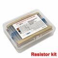 Набор резисторов 600 1% Вт для самостоятельной сборки, набор металлических пленочных резисторов с цветным кольцом сопротивления (10 Ом ~ 1 МОм), 1...