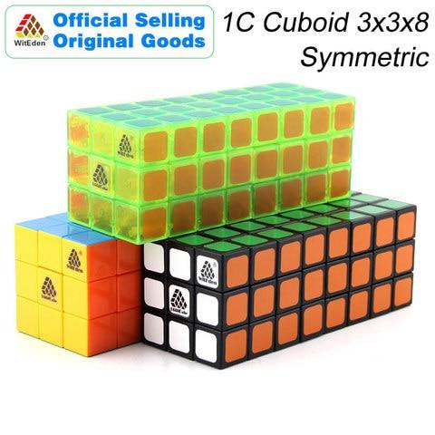 witeden 3x3x8 cubo magico cuboid simetrico 1c 338 cubo magico velocidade profissional neo cubo quebra