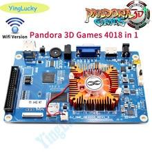 O envio gratuito de 2020 novo 4018 em 1 console do jogo pcb 3d arcade máquina placa suporte 3p 4p ou hd vídeo games console pandora caixa