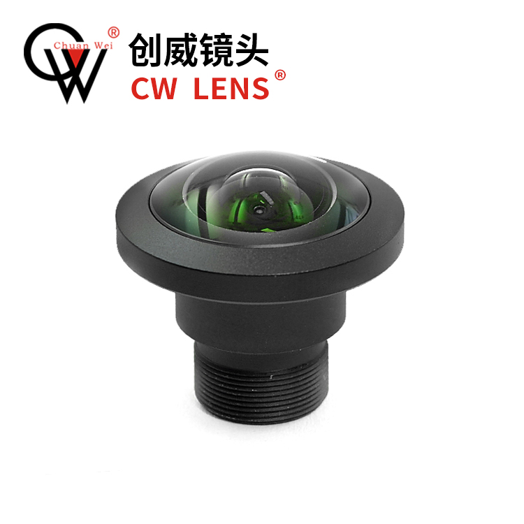 Fisheye Lens 1.13~1.85mm Focal Length Optional M12 Panoramic Camera Accessories CS Wide Angle 4K Lens