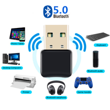 Adapter Bluetooth-Transmitter Music-Receiver Desktop Wireless Usb for WIN 7/8/10 V5.0