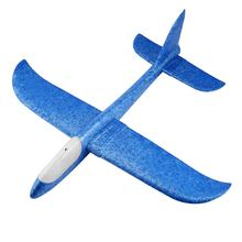 DIY Hand Throw Flying Glider Planes Foam Airplane Aeroplane Model For Kids Children Game Toys Throwing Flying Model Aircraft(China)