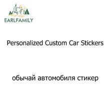 EARLFAMILY araba Styling özel çıkartmalar kalıp kesim kişiselleştirilmiş vinil çıkartması tampon çıkartması özelleştirilmiş araba sarma etiket makinesi