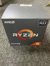 Yeni işlemci AMD Ryzen5 2600X R5 2600X3.6 GHz altı çekirdekli oniki iplik 95W İşlemci YD260XBCM6IAF soket AM4 Wraith Max Fan