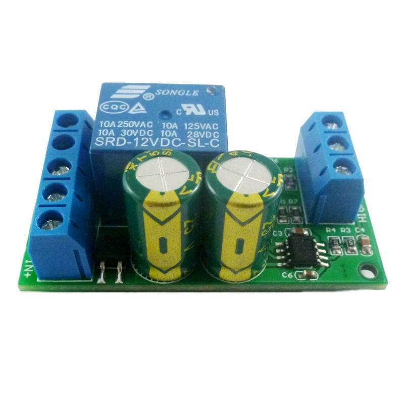 12V Water Level Automatic Controller Module Liquid Sensor Switch Solenoid Valve Motor Pump Automatic Control Relay Board