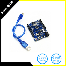 NEW ATMEGA328P-AU UNO R3 BOARD Compatible  For Arduino UNO R3 ATMEGA328P AU With MINI USB diy electronics 10pcs lot atmega328p atmega328p au qfp32 new