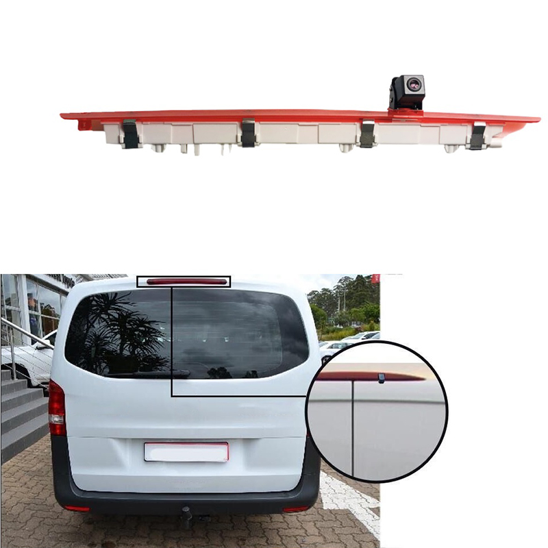 Led Third Brake Light Backup Camera For Mercedes Benz Vito 2016 2017 Reverse Rear View Reversing Waterproof Top Roof Mount Parki