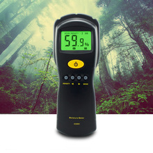 Digital hygrometer Wood Moisture Meter Tester High Precision Humidity Measuring Instrument Tool LCD display AS981 free shipping digital light meter lamps lanterns led brightness tester illuminance meter light metering instrument tool