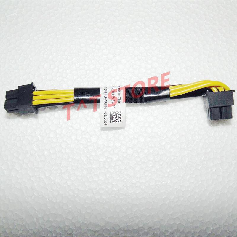 Original pour DELL R740XD 12 baie LFF POWEREDGE serveur arrière FLEX baie CAGE câble d'alimentation W6W09 0W6W09 CN-0W6W09 test bon