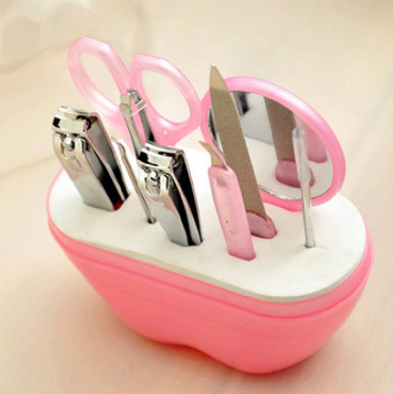 Apple Modeling Nail Clippers Set Cute Manicure Beauty Gadgets Manicure Nail Clippers