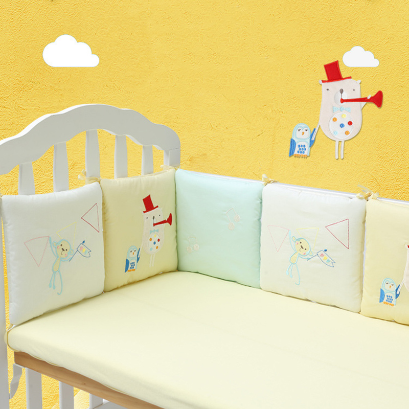 6Pcs Crib Fence Set Crib Fence Safety Pad Fence Crib Fence Newborn Crib Fence