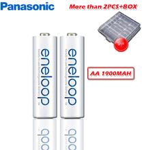 Panasonic oryginalny 1 2V 1900mAh NI-MH AA akumulatorów do aparatu latarka zabawka wstępnie naładowany akumulator baterie wyprodukowane w japonia tanie tanio BK-3MCCA Baterie Tylko 14 5*50 5MM 30g per section NiMH batteries