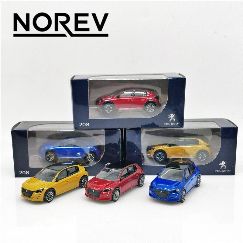 Norev 1:64 Peugeot 208 Diecast Model Car