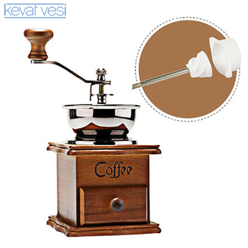 Molinillo de Café Manual de madera, molinillo de café Retro de acero...