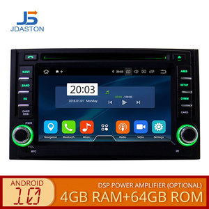 JDASTON Android 10 Car Multimedia Player For Hyundai H1 Grand Starex iLoad i800 4G+64G 2Din Car Radio Stereo GPS Navigation DVD