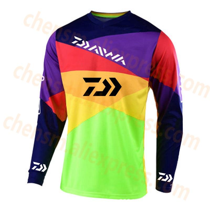 2020 DAIWA Fishing Clothing Men Ultrathin Long Sleeve Sunscreen Anti-uv Breathable Coat Summer Fishing Shirt Size XS-5XL Jacket