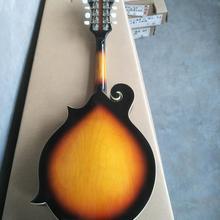 Новое поступление Cnbald мандолин 8 струнный инструмент мандолин из массива дерева в sunburst бесплатный мешок 190118
