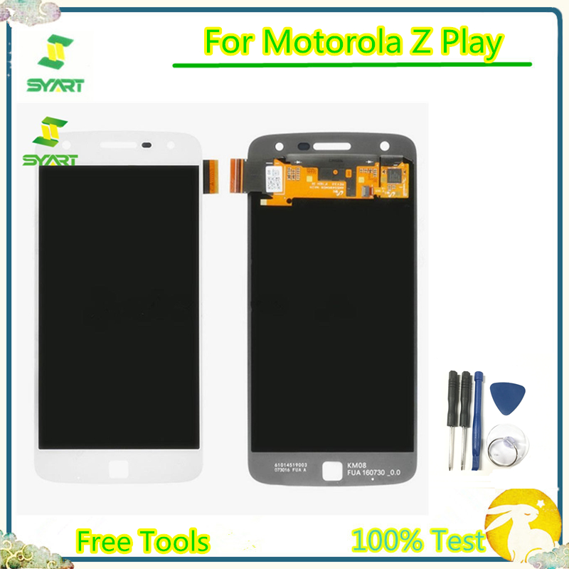 LCD Screen For Motorola Z Play LCD Display With Touch Screen Digitizer Assembly For Moto Z Play <font><b>XT1635</b></font> <font><b>XT1635</b></font>-01 <font><b>XT1635</b></font>-<font><b>02</b></font> LCDs image