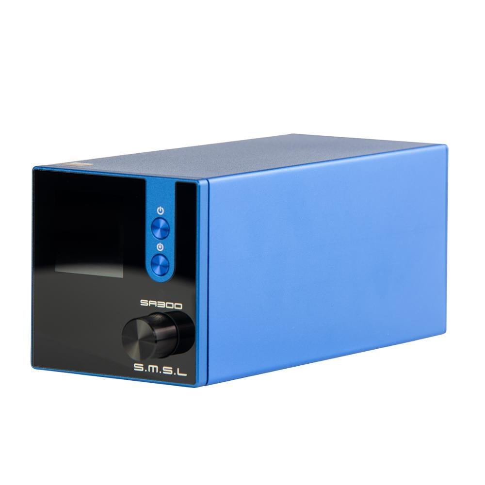 SMSL SA300 высокомощный Bluetooth 5,0 HiFi дистанционный цифровой усилитель