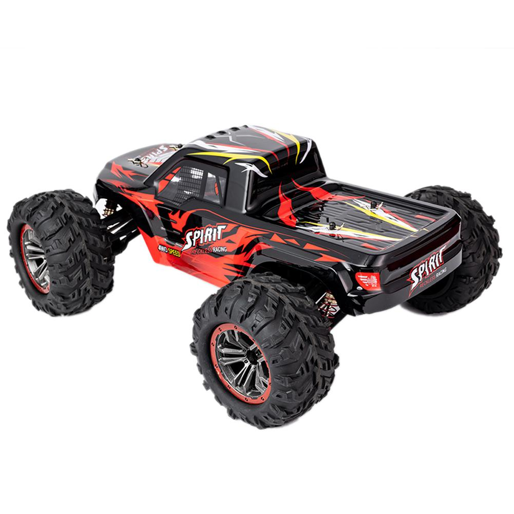 RC coche de alta velocidad X-04 2,4G 1/10 4WD Brushless Big Foot vehículo modelos camión todoterreno vehículo Buggy RC juguetes electrónicos RTR Cubo de basura para coche, cubo de basura de coche, Papelera para el hogar, papelera, cesta para el coche, accesorios para el coche, accesorios para el coche