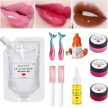 Набор гелей для губ «сделай сам» прозрачный антипригарный Увлажняющий