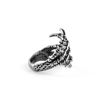 Bague griffes de métal dragon 2