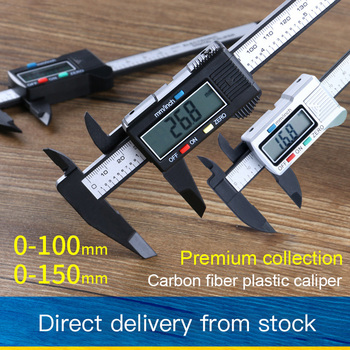 цена на 0-150mm LCD Electronic Digital Caliper Vernier Caliper Gauge Micrometer Measuring Tool Digital Ruler with Battery