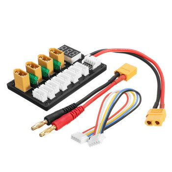 High Quality 3S/4S Battery 5P Parallel Balanced Charging Board XT60 B6 Lipo - discount item  40% OFF Remote Control Toys