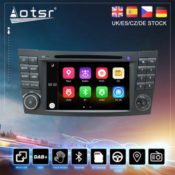 For Mercedes Benz E-Class W211 E200 E500 CLS W219 Car CD DVD GPS Navigation Radio Stereo Auto Multimedia Player HeadUnit 2DIN image