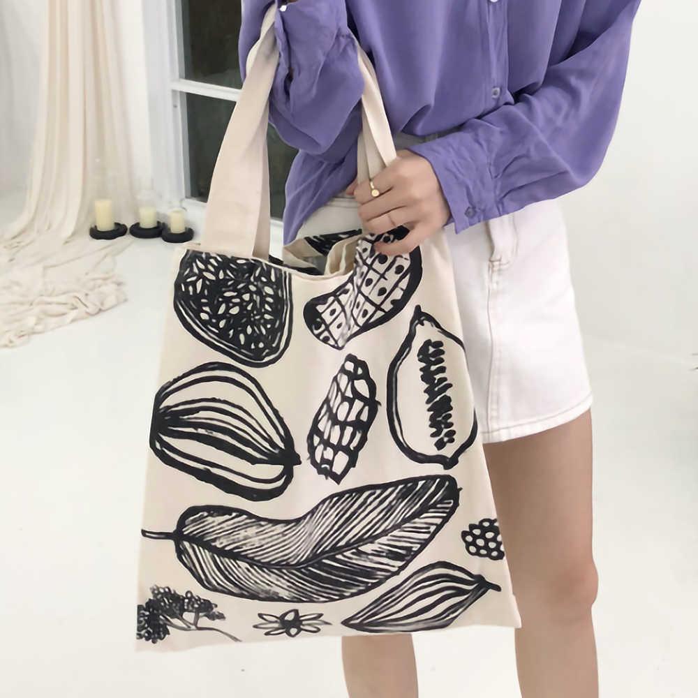 سعة كبيرة قماش حقيبة تسوق قماش ريترو حقيبة ملابس ايكو قماش حقائب اليد حقيبة كتف كبيرة القطن حقيبة تسوق كبيرة قابلة لإعادة الاستخدام
