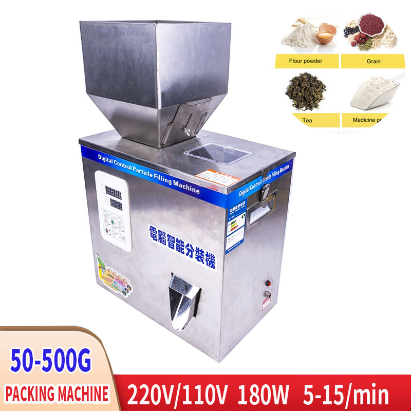 220V 180W Automatic Powder Packing Machine Coffee Powder Granules Seed Wolfberry Weighing Quantitative Filling Machine