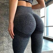 Mallas Push Up de encaje perfecto para mujer, Leggings sexy, de cintura alta, a prueba de sentadillas, para gimnasio, entrenamiento