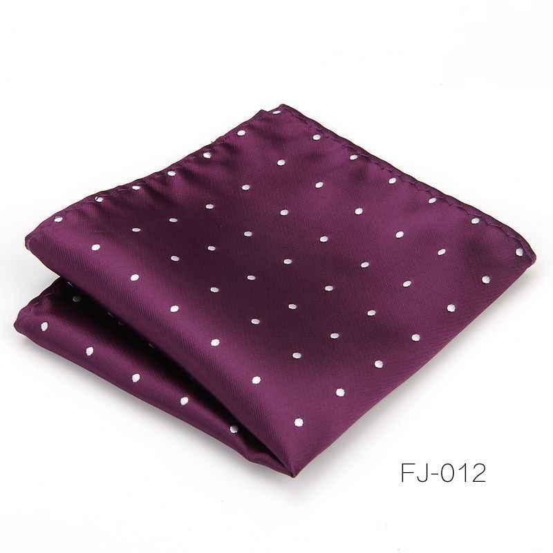 Носовые платки в горошек для мужчин, Карманный квадрат из 100% шелка, мужское жаккардовое Тканое классическое свадебное полотенце, 100 шт.