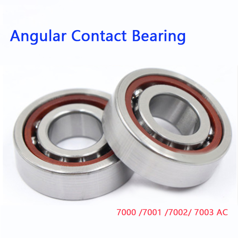 Single Row Angular Contact Bearing 7000 7001 7002 7003 AC High Speed Precision Machine Tool Bearing The Thickness Of 8-10mm