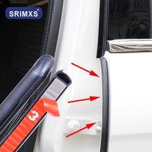 Drzwi samochodu gumowy pasek uszczelniający wypełniacz drzwi samochodu uszczelka dla B filar wiatroszczelna przednia tylna klapka krawędzi Auto Styling