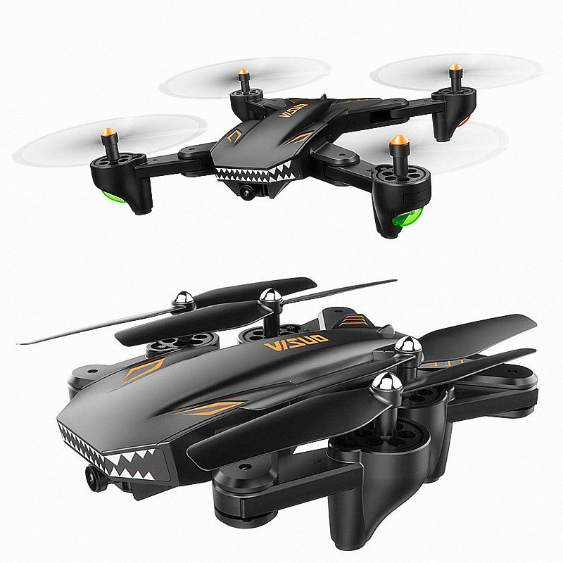 New Products Folding Remote-control Four-axis Aircraft Wifi Aerial Light Transmitting Flow Follow Set High Remote-controlled Unm