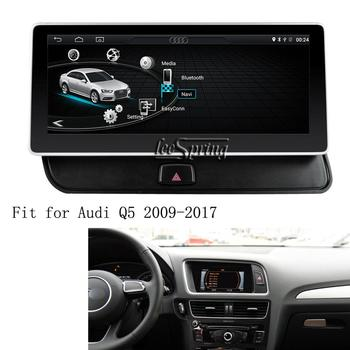 10.25 inch Android 8.1 Car media player for Audi Q5 2009-2017 GPS Navigation Upgraded Original Car Screen image