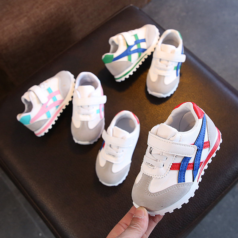 2019 Autumn Baby Girl Shoes Boys Sneakers Newborn Soft Bottom First Walk Kids Shoes Non-slip Fashion Toddler Shoes For Baby