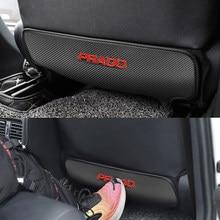 1 pçs assento de carro de volta anti-pontapé almofada almofada do assento traseiro do passageiro anti-sujo pontapé almofada para toyota prado land cruiser acessórios