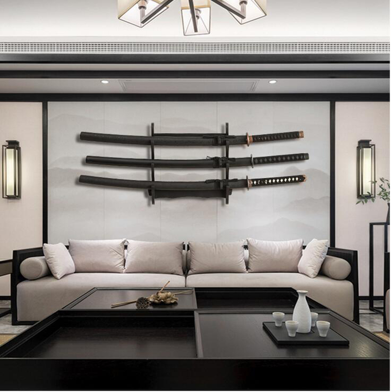 2020 Exclusive Hot Sale Longquan Sword Wall Sword Solid Wood Knife Mount Hanging Sword Holder Cold Weapon Sword Holder Town Hous