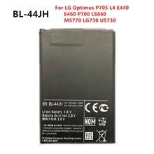 цена на New 1700mAh BL-44JH Replacement Battery For LG Optimus P705 L4 E440 E460 P700 LS860 MS770 LG730 US730  BL44JH  Batteries