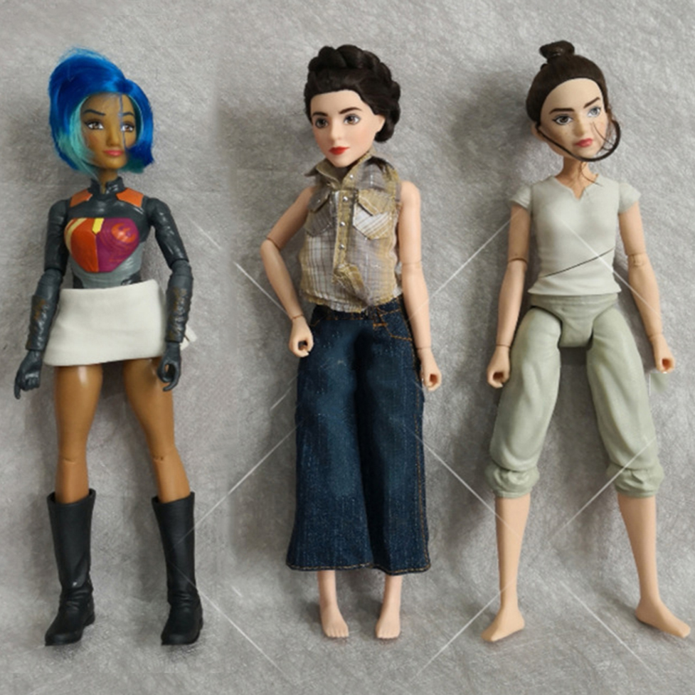 1/6 30CM Joints Moveable Dolls With Weapon Female Figma Body Movie Girl Collection Princess Cool Doll With Clothes Toy Gifts