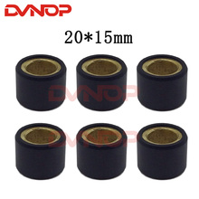 6PCS Clutch Variator Roller  weight set 20x15mm 14g  for CH125 CH150 CF150 SH125 SH150 PCX 150 B&W DINK KEEWAY OUTLOOK