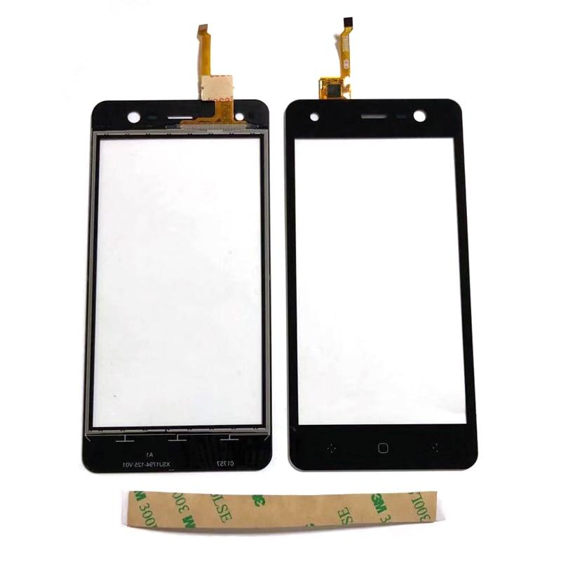 Для BQ Trend BQ-5009L BQ5009L BQ 5009L сенсорный экран стекло дигитайзер черный цвет