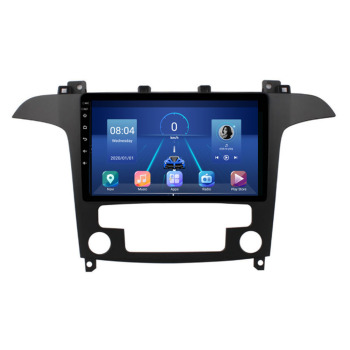 4G LTE Android 10.1 For FORD Focus Mondeo C-MAX S-MAX Galaxy II Kuga Multimedia Stereo Car DVD Player Navigation GPS Radio image