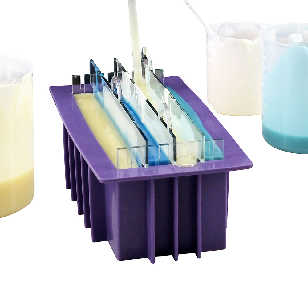 Render Soap Making Set Silicone Mold With Separators Planer Cutters Cold Process Soaps Making Tools