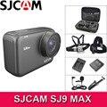 SJCAM Câmera Ação 4 SJ9 MAX K WiFi 10m Corpo À Prova D' Água DV 96683 1080P Full HD Streaming Ao Vivo 2.33 polegada de Tela Ao Ar Livre SJ 9 Cam