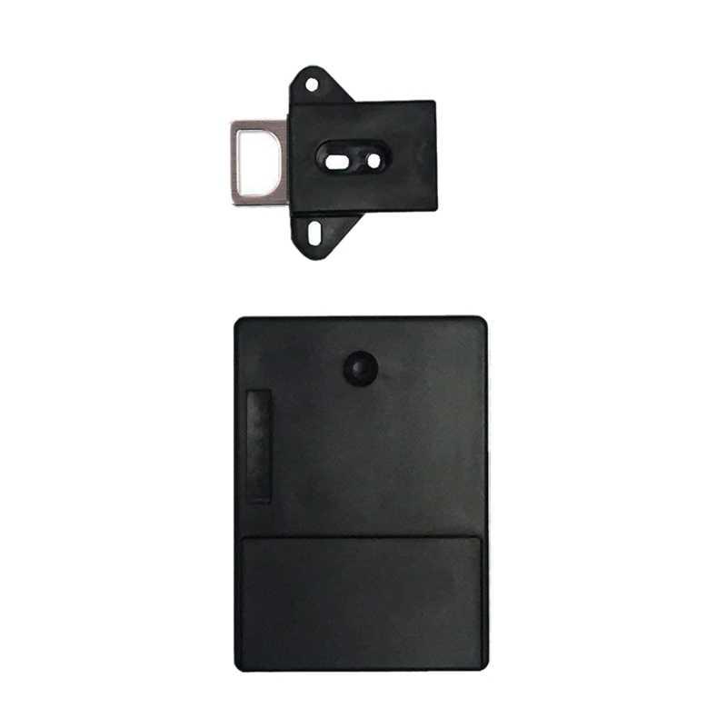 Черный Невидимый Rfid свободный для открытия умный индукционный шкаф замок